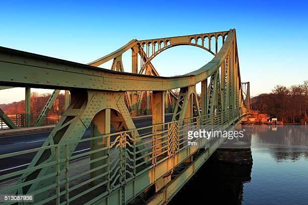 The famous Glienicker Brücke between Berlin and Potsdam