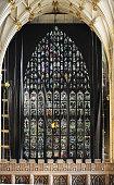 East Window in York Minster being renovated