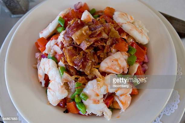 The famous Harry Salad is arranged for a photograph in Boby Van's restaurant in Bridgehampton New York US on Sunday Aug 3 2008 The original Bobby...