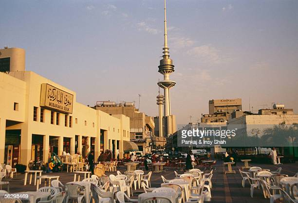 The Famous Landmark in Kuwait City at Day