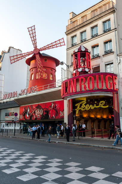 The famous Molin Rouge in Paris