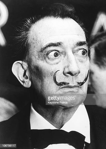 The Famous Moustaches Of Salvador Dali 1966