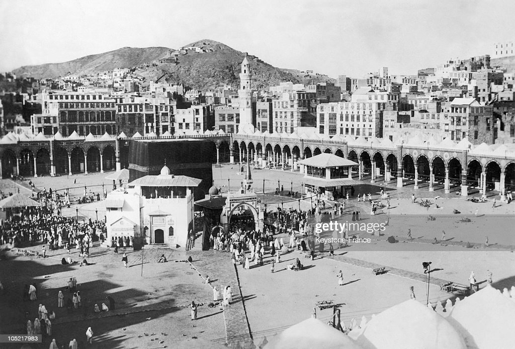 First Picture Of Kaaba The Grand Mosque Of Mecca 1930 : News Photo