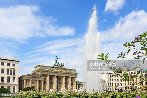 The famous place in the touristic center of Berlin