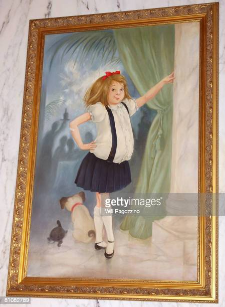 The famous portrait of Eloise The Plaza's most mischievous guest after being unveiled at the Plaza Hotel on May 14 2008 in New York City