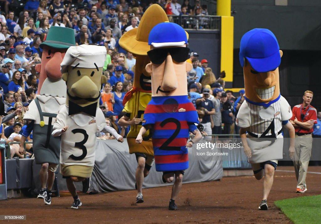 MLB: JUN 12 Cubs at Brewers : News Photo