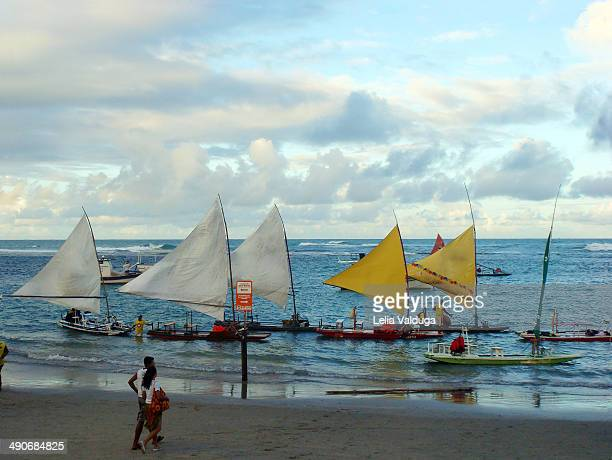 The famous rafts of Porto de Galinhas His fame is due mainly to the natural beauties