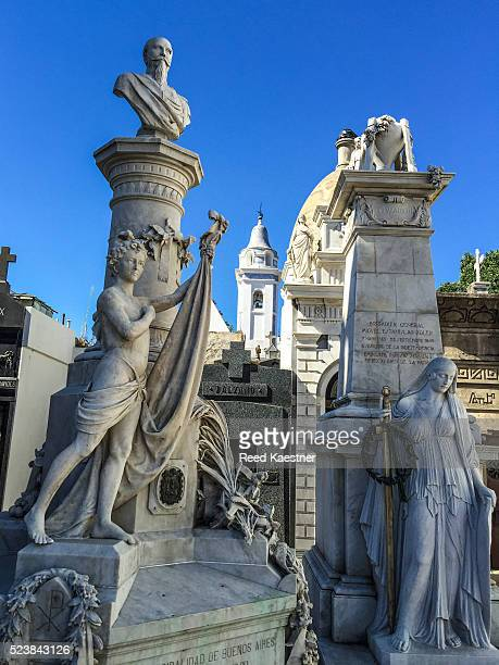 The famous Recoleta Cemetery in Buenos Aires