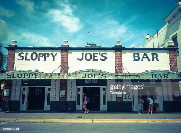 der berühmte sloppy joe's bar - sloppy joe, jr stock-fotos und bilder