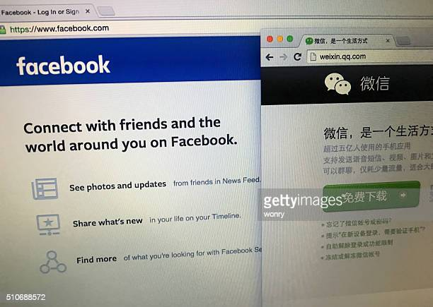 The famous social networks in the world and China respectively