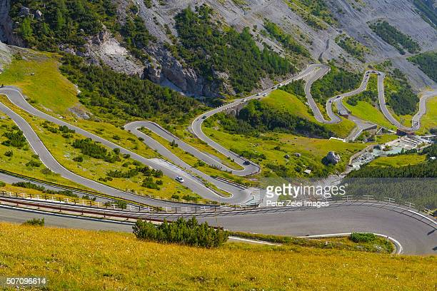 The famous Stelvio Pass in Italy