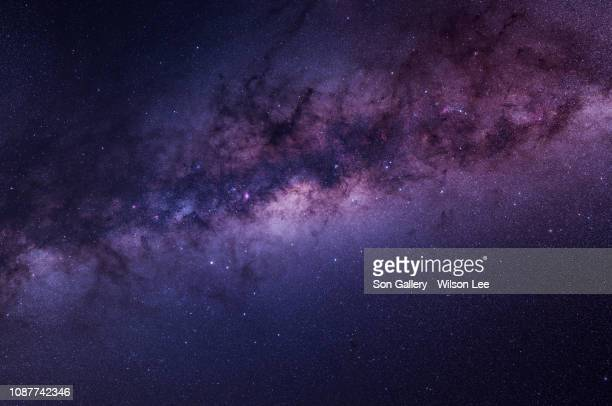 the fancy look of milky way - nebula stock pictures, royalty-free photos & images