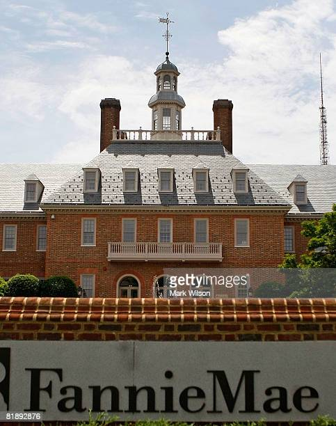 The Fannie Mae headquarters is seen July 10 2008 in Washington DC Shares in Fannie Mae and Freddie Mac have dropped to their lowest levels in 17 years