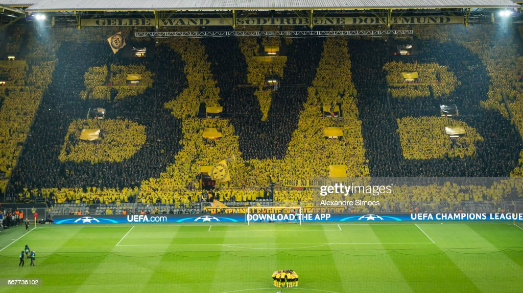 Borussia Dortmund v AS Monaco - UEFA Champions League Quarter Final: First Leg : Nachrichtenfoto