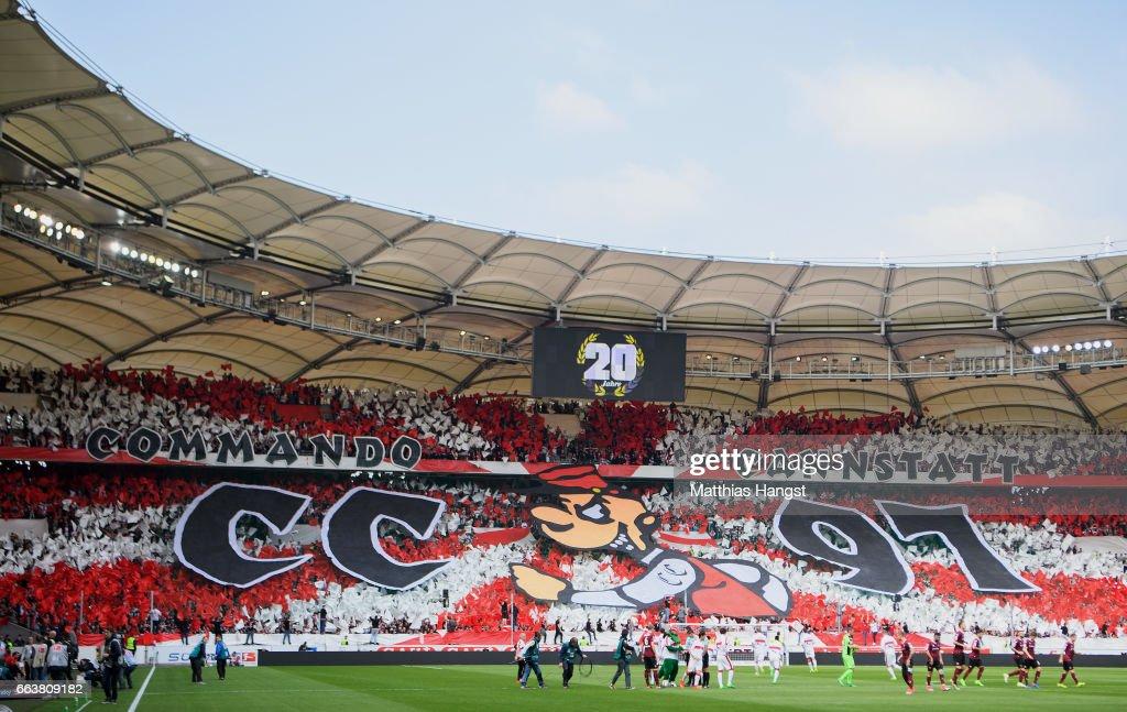 VfB Stuttgart v Dynamo Dresden - Second Bundesliga : Nachrichtenfoto