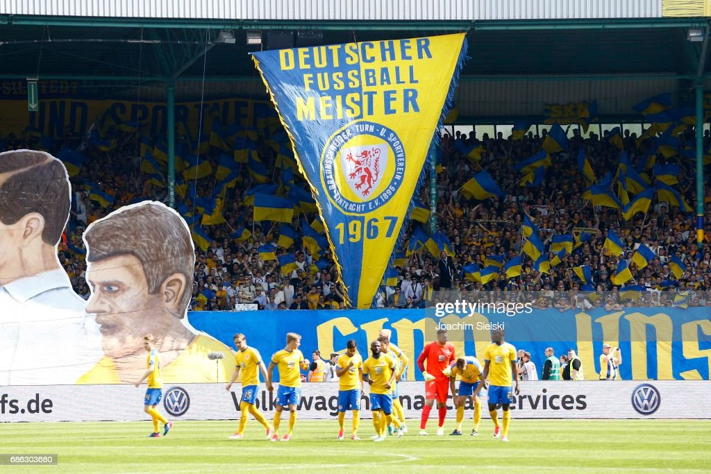 Eintracht Braunschweig v Karlsruher SC - Second Bundesliga : News Photo