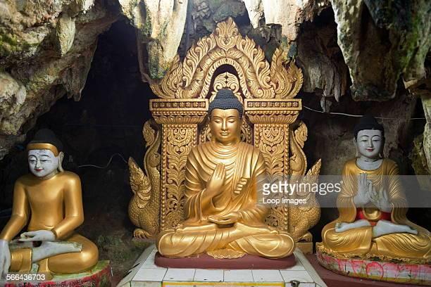 The fantastic Buddhist Caves at Pindaya in Myanmar