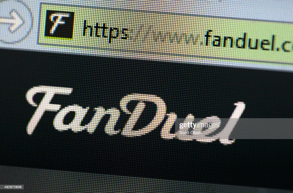Online Fantasy Sports Sites, FanDuel And DraftKings, Under Scrutiny Of Government : News Photo