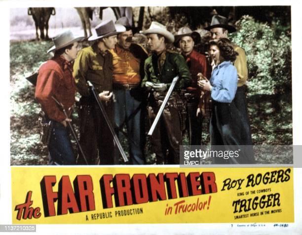The Far Frontier lobbycard Andy Devine Roy Rogers Gail Davis 1948
