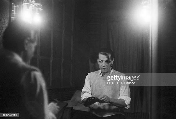 The Farewell Of Serge Lifar Paris 6 Décembre 1956 Lors de ses adieux à l'Opéra de Paris avant l'interprétation du grand ballet classique 'Giselle' le...