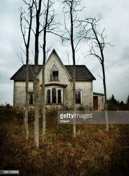 the farm house - abandoned stock pictures, royalty-free photos & images