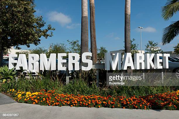 The Farmers Market located just south of CBS Television City in Los Angeles, California