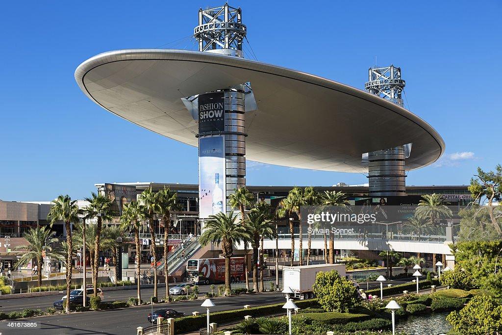 The Fashion Show Mall Las Vegas Largest Shopping Stock Photo