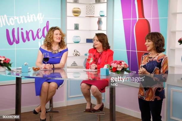 NEWS 'The Fast Track' Episode 212 Pictured Ana Gasteyer as Kelly Rachel Dratch as MaryKelly Andrea Martin as Carol Wendelson