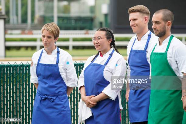 TOP CHEF 'The Fastest 2 Minutes in Cooking' Episode 1601 Pictured Adrienne Wright Nini Nguyen Brandon Rosen Pablo Lamon
