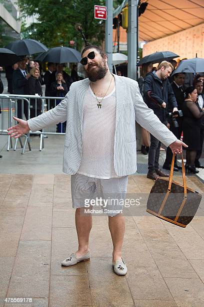 The Fat Jew attends the 2015 CFDA Fashion Awards Sightings at Alice Tully Hall at Lincoln Center on June 1 2015 in New York City
