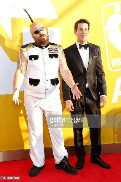 The Fat Jew attends the 2017 NBA Awards at Basketball City Pier 36 South Street on June 26 2017 in New York City