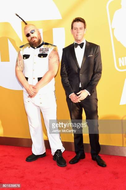 The Fat Jew attends the 2017 NBA Awards live on TNT on June 26 2017 in New York New York 27111_003