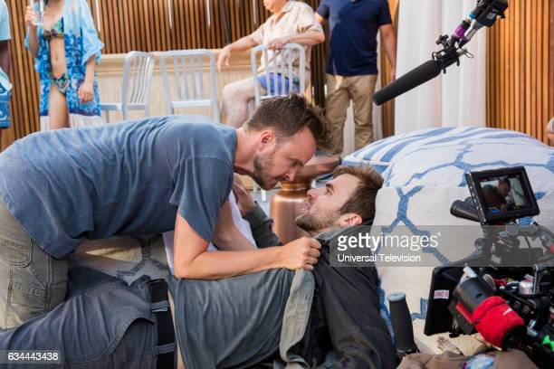 THE PATH 'The Father and the Son' Episode 203 Behind the Scenes Pictured Aaron Paul
