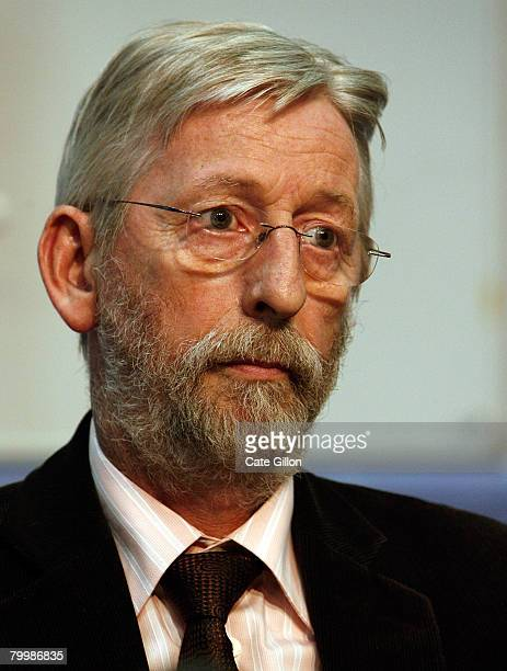The father of Amelie Delagrange JeanFrancois Delagrange speaks to the press at Snow Hill Police Station on February 25 2008 in London England Former...