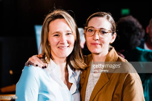 The Favourite Set Decorator Alice Felton and The Favourite Production Designer Fiona Crombie attend the 13th Annual Art Of Production Design Oscar...