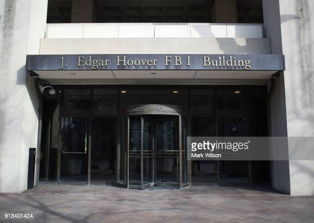 The FBI headquarters is seen on February 2 2018 in Washington DC President Donald Trump contemplating the possible release of a highly controversial...