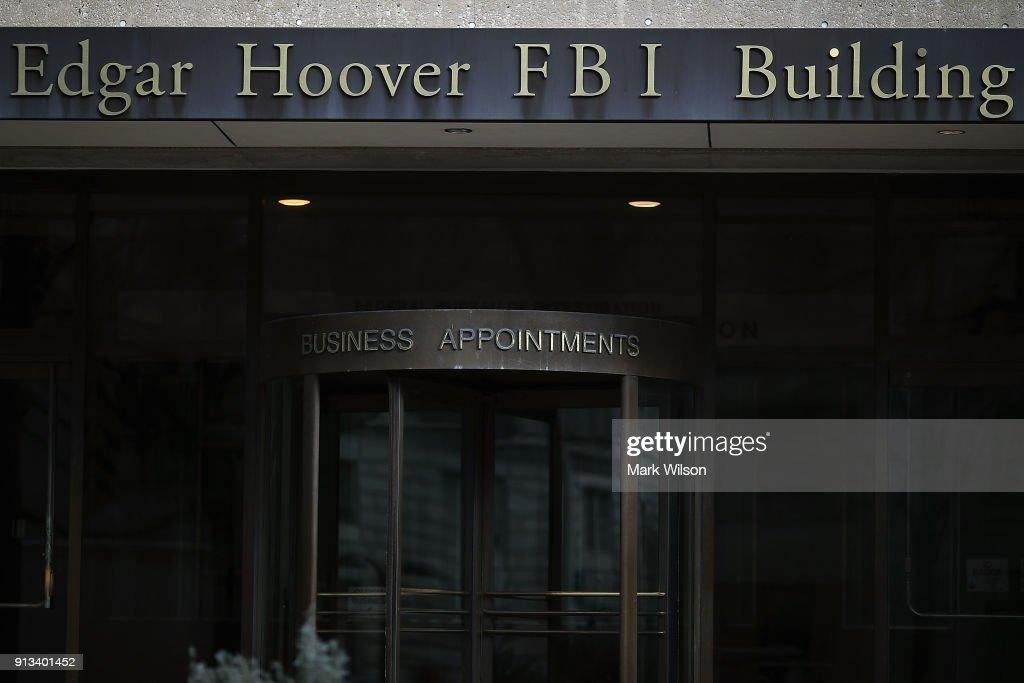 FBI Awaits Trump Decision On Release Of Nunes Memo On Russia Investigation : News Photo