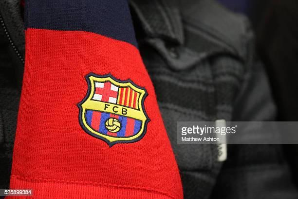 The FC Barcelona badge