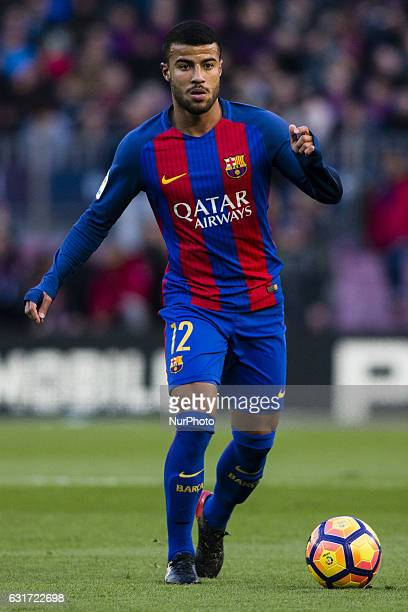 The FC Barcelona player Rafinha Alcantara from Brasil during the La Liga match between FC Barcelona vs UD Las Palmas at the Camp Nou stadium on...