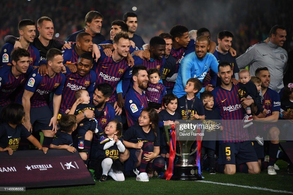 FC Barcelona v Levante UD - La Liga : News Photo