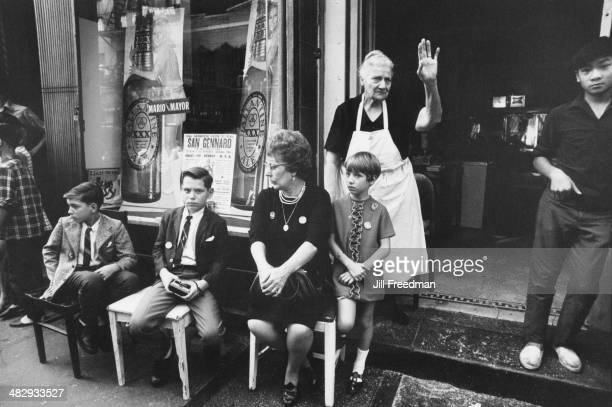 The Feast of San Gennaro in Little Italy New York City 19th September 1969