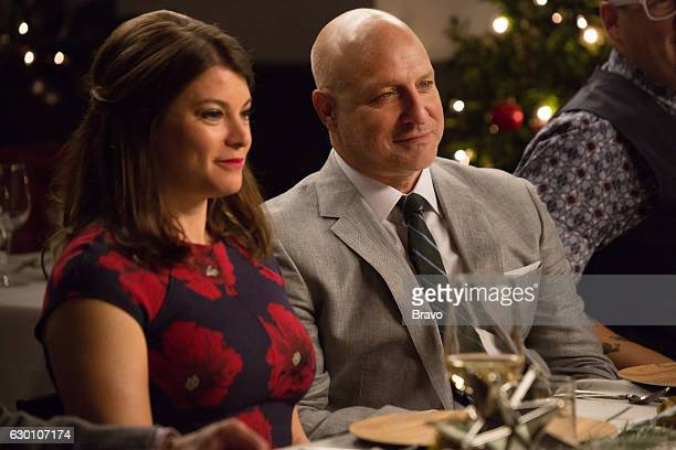 TOP CHEF 'The Feast of Seven Trash Fishes' Episode 1404 Pictured Gail Simmons Tom Colicchio