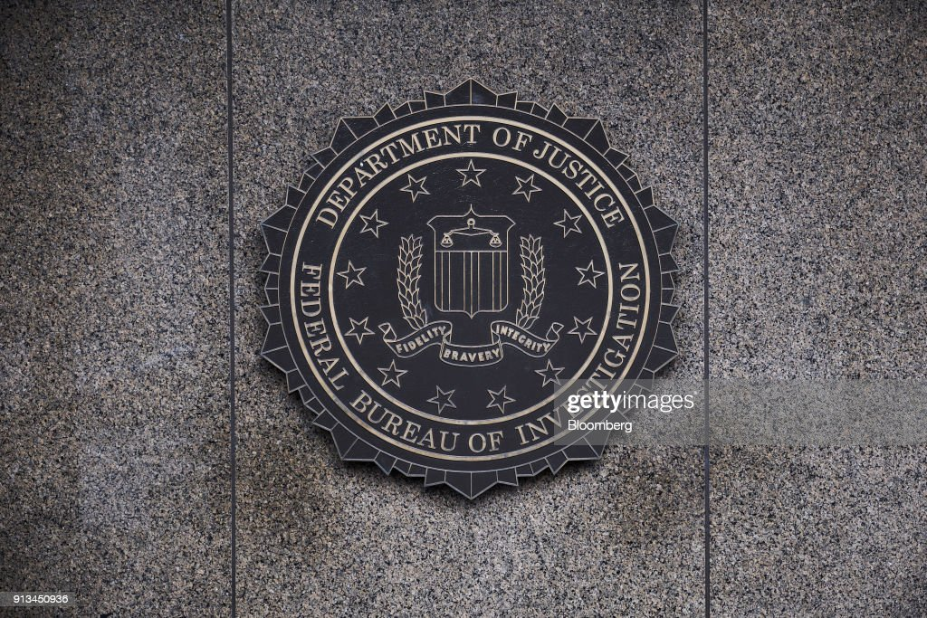 FBI Headquarters As GOP Releases Memo On Russia's Involvement In The 2016 Presidential Race : News Photo