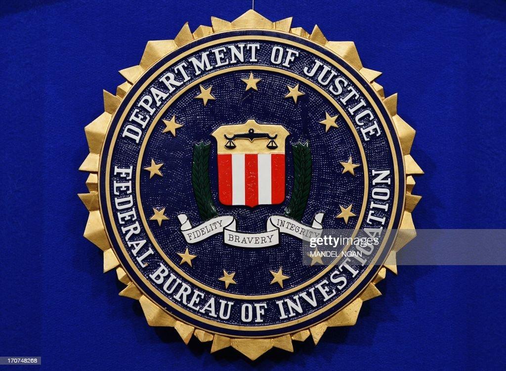 US-CRIME-FBI-SEAL : News Photo