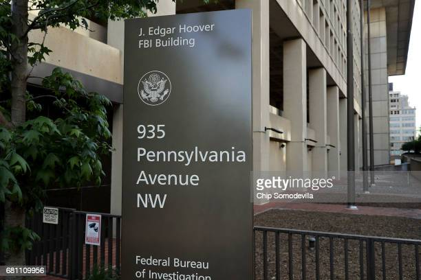 The Federal Bureau of Investigation's Edgar J Hoover Building May 9 2017 in Washington DC On the recommendation of US Attorney General Jeff Sessions...