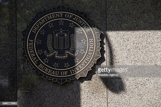 The Federal Bureau of Investigations headquarters in Washington USA on August 26 2016