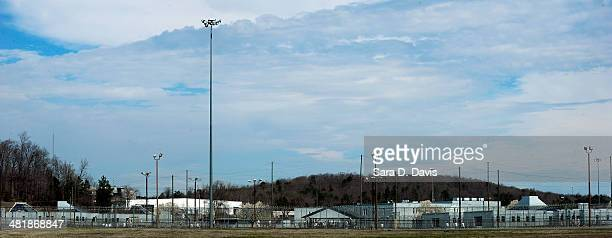 The Federal Bureau of Prisons Correctional Complex where convicted Israeli spy Jonathan J. Pollard is housed, is seen on April 1, 2014 in Butner,...