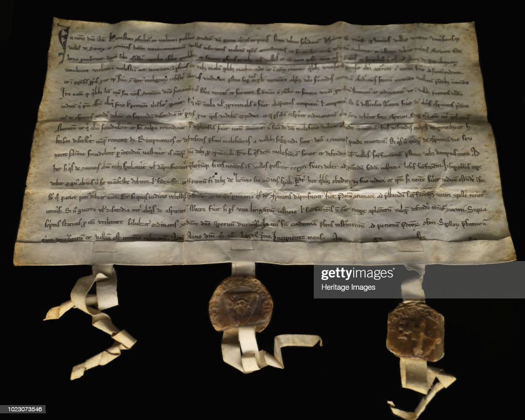 The Federal Charter Of 1291 : News Photo