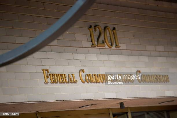 The Federal Communications Commission headquarters stands in Washington DC US on Monday Nov 10 2014 President Barack Obama called for the strongest...