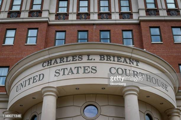 The federal courthouse stands in White Plains New York US on Wednesday Aug 21 2019 Lawyers for Tartaglione the former cellmate ofJeffrey...